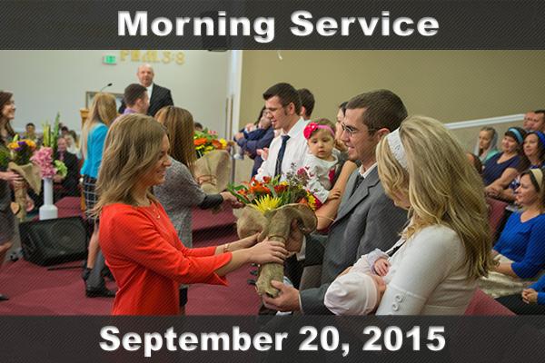 Неділя, 20 вересня 2015. Ранкове Богослужіння за участю Другого хору