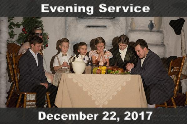П'ятниця, 22 грудня 2017. Різдвяна вистава для дітей.